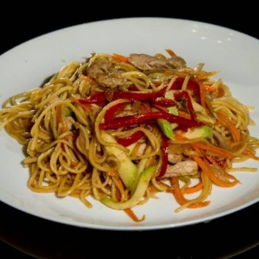 49. Chinese Chicken Fried Noodles