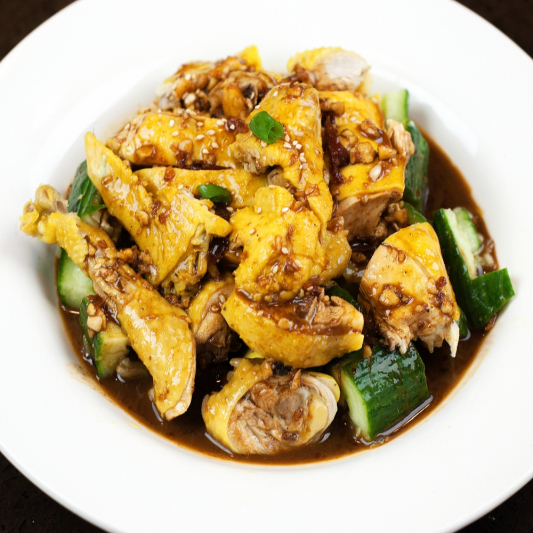 059. 醬爆鸡丁 Chicken Stir Fry with Spicy Bean Sauce and Oyster Sauce