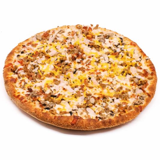 Bacon Cheeseburger Pizza (GF)