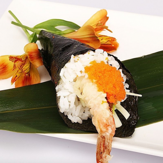 H9. Shrimp Tempura Hand Roll (1 pc)
