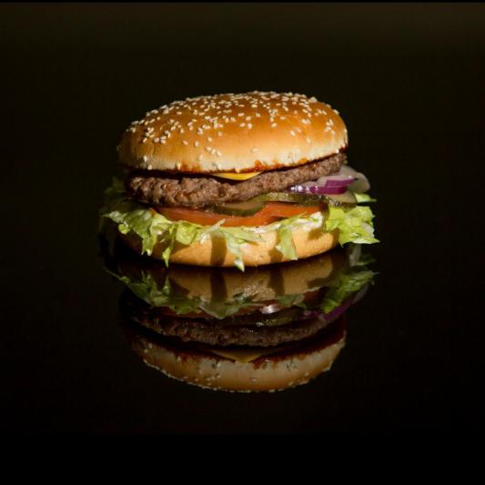 88. Beef Burger Combo