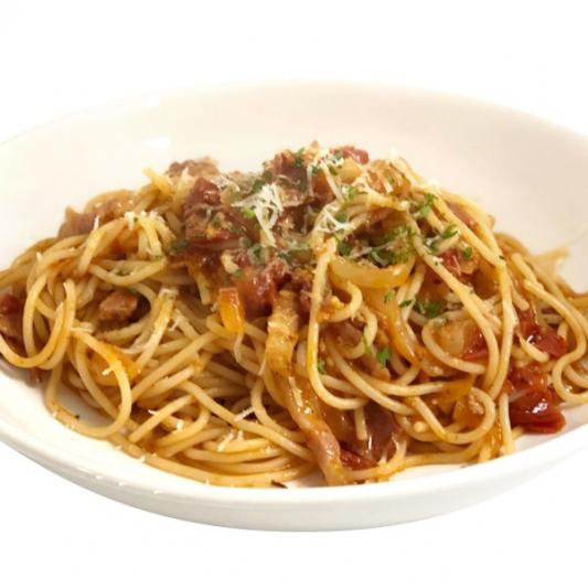 (59) Pan Fried __ Spaghetti