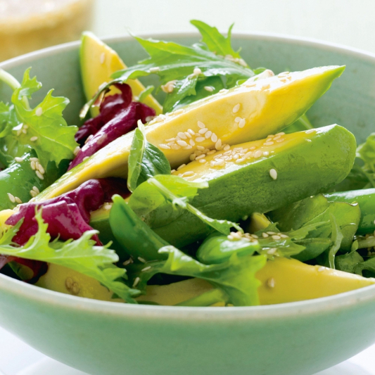 2. Avocado Green Salad