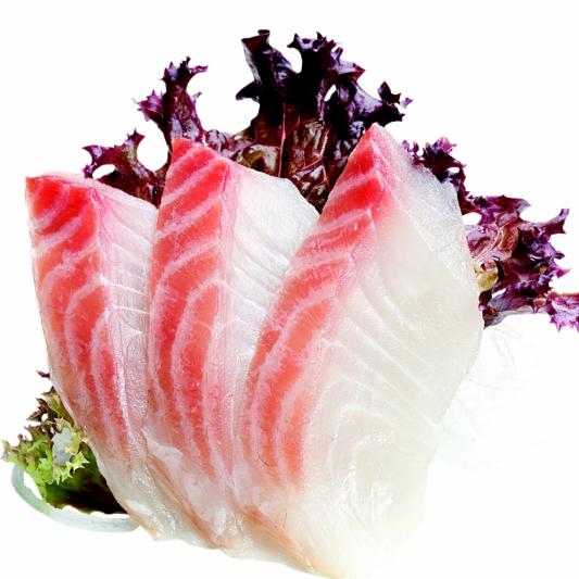 80. Tai Sashimi (7 pcs)