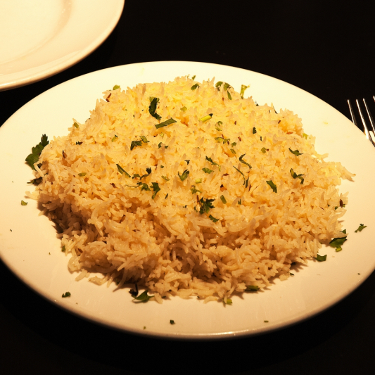 303. Crispy Rice with Hot and Sour Sauce