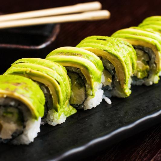 Wasabi Calamari Roll
