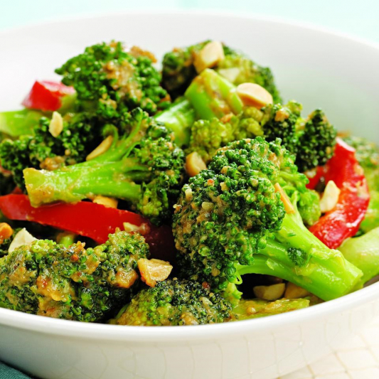 Broccoli with Mushrooms
