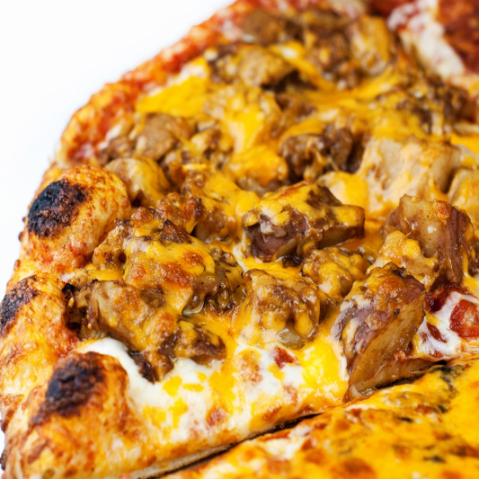 8. BBQ Chicken Pizza