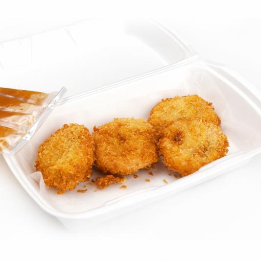 12. Deep-Fried Crispy Tofu