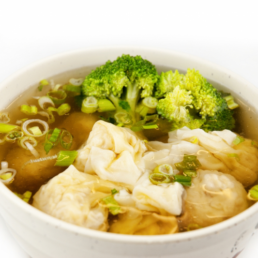 47. Wonton and Dumplings in Soup (Shrimp & Pork)