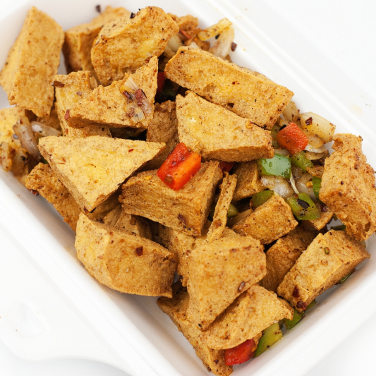 V3. Spicy Salted Tofu