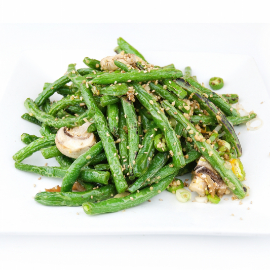 100. Pickled Hot And Sour Long Beans With Minced Pork