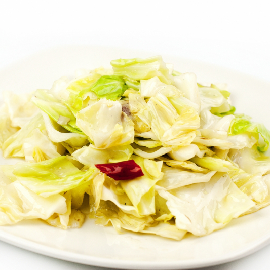 Spicy Stir-Fried Cabbage