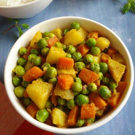 95. Snow Peas with Vegetables