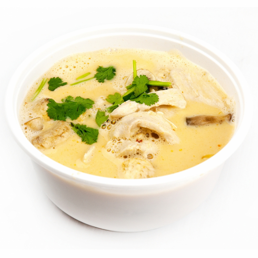 Tom Kha Gai and Vermicelli Noodles