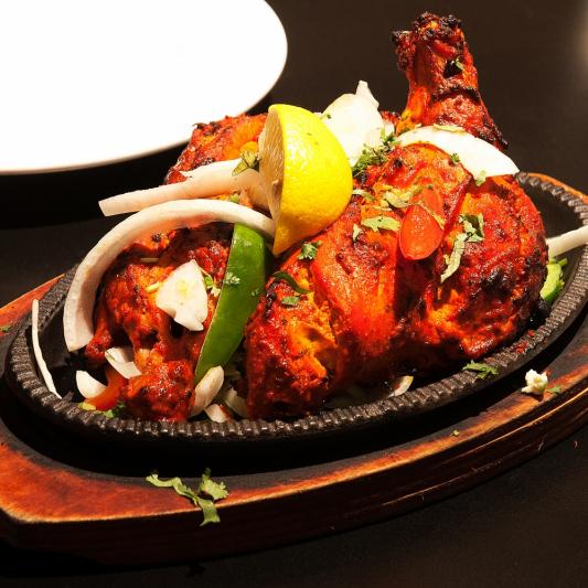 Tandoori Chicken Tikka (Boneless)