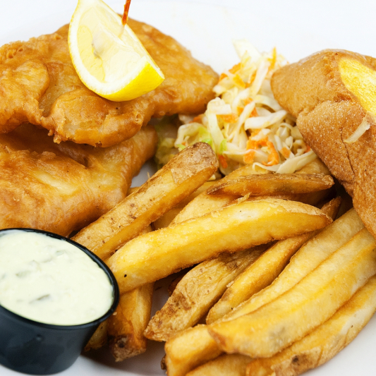 91. Fish and Chips