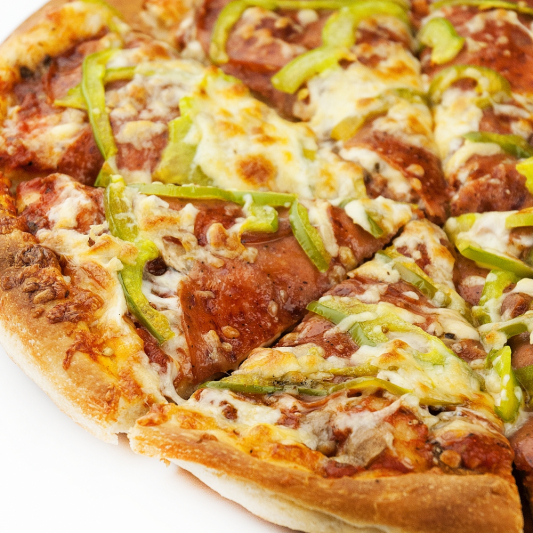 Sweet or Hot Peppers Pizza (Small)