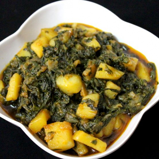 16. Potato & Spinach Sagalo