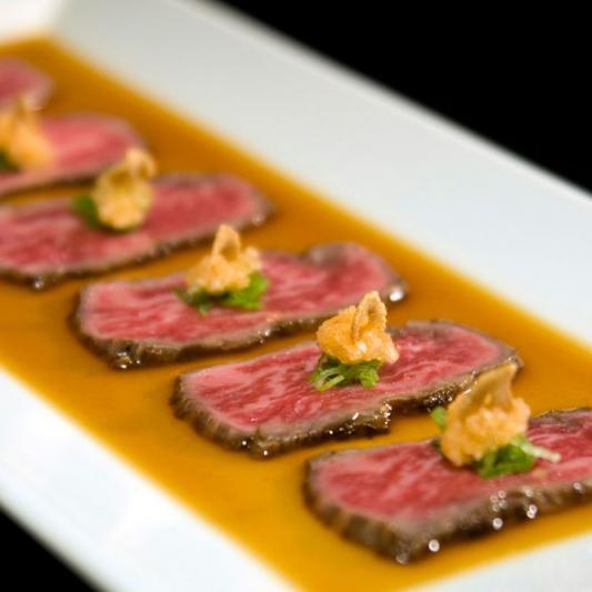 B32. Beef Tataki Sashimi (8 pcs)