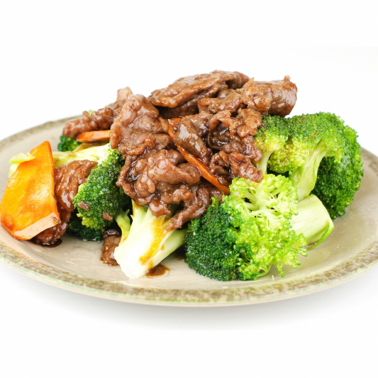 A36. Stir Fried Beef with Broccolis