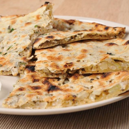 Onion Stuffed Naan