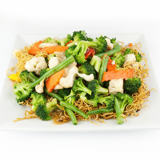 75. Mixed Vegetable Chow Mein