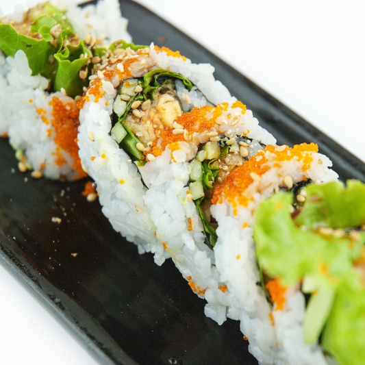 Yam Tempura Cream Cheese Roll