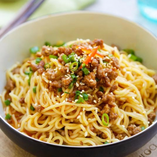 BBQ Pork Noodle in Soup 叉燒湯麵