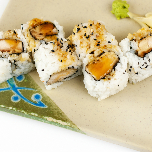 Chicken Teriyaki California Roll