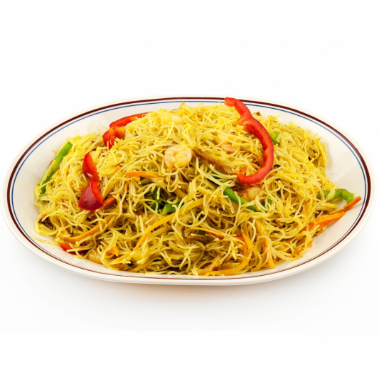 Special Curry Fried Rice Noodles 炒贵刁