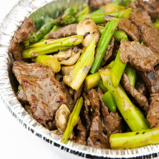 Beef Vegetables in Black Bean Sauce