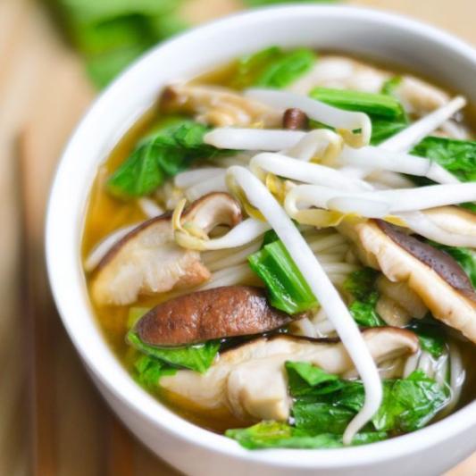 50. Drued Mushroom Soup