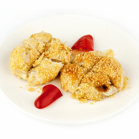 195. Deep-Fried Radish Pastry (2 pcs)