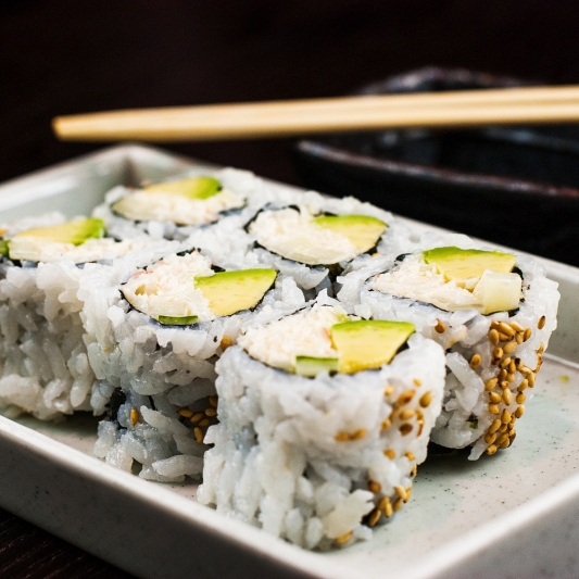 Mango California Roll