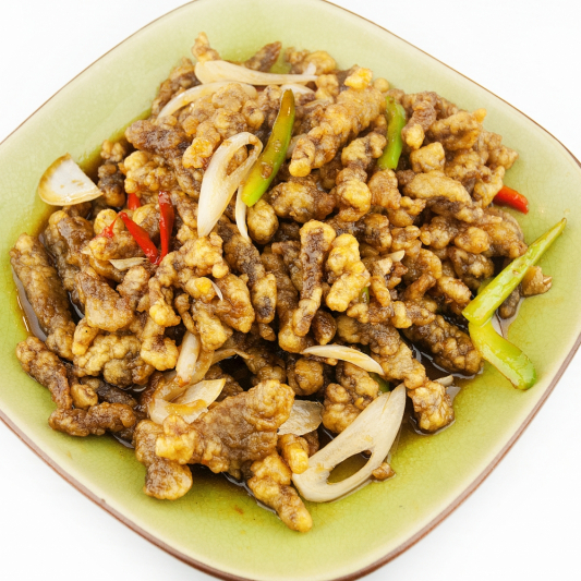 Beef with Coconut Dry Fry