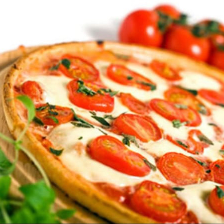 8. Margarita Pizza