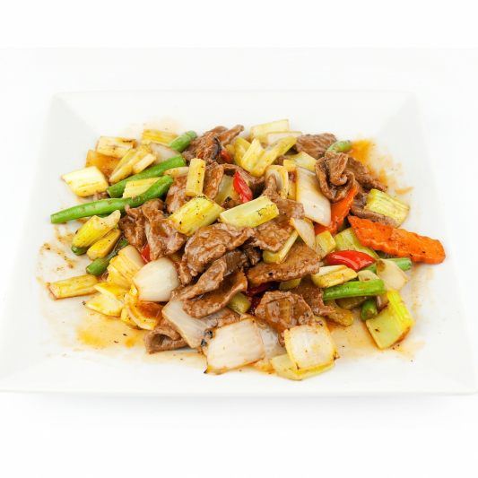 42. Spicy Beef Szechuang Style