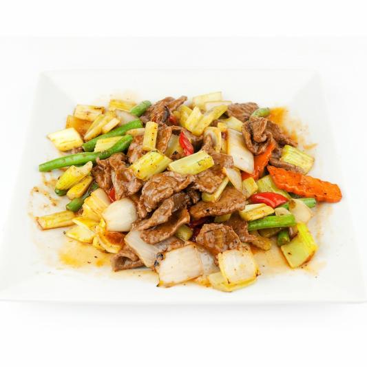 99. Beef in Szechuan Style