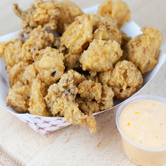Masala-Fried Crispy Calamari