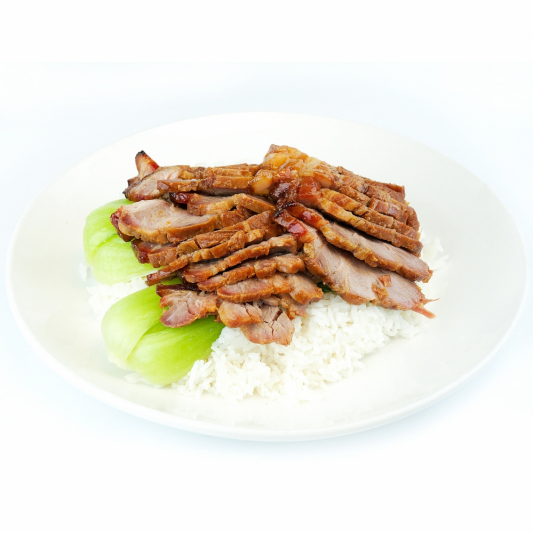 48. BBQ Pork on Rice