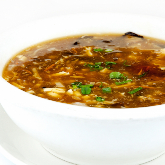 B3. Sichuan Hot & Sour Soup