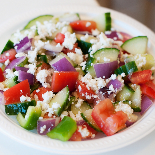 Greek Salad (Medium Bowl)