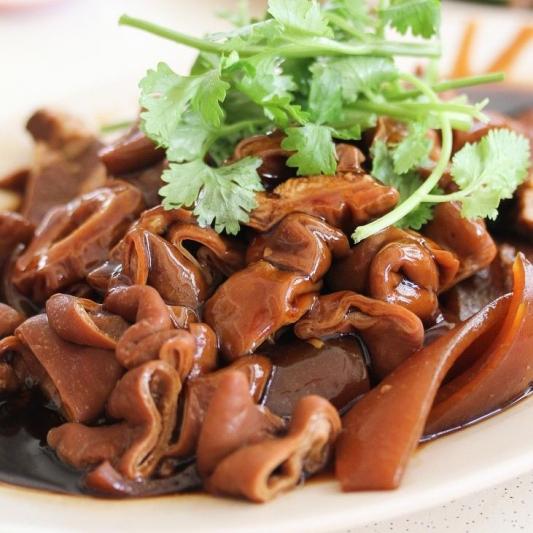 042.干锅肥肠  Hot Wok Stir Fry Spicy Chitlins