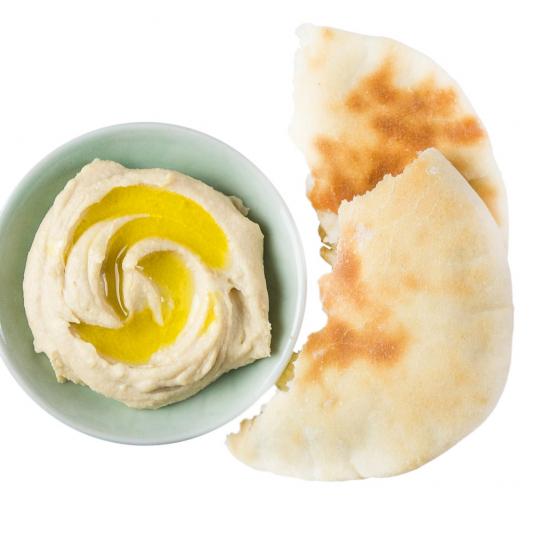 Pita & Roasted Garlic Hummus