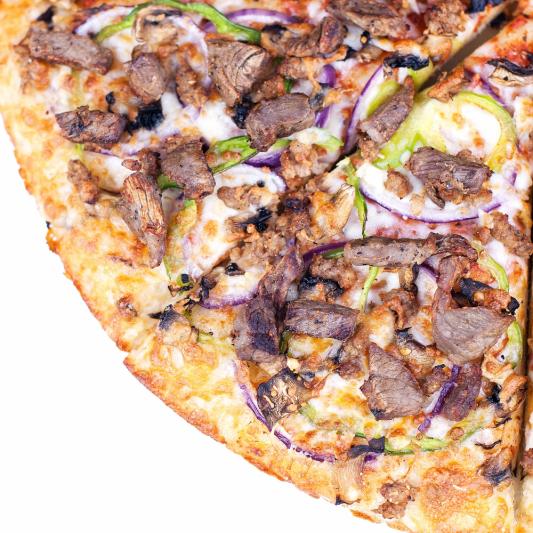 BBQ Steak Pizza