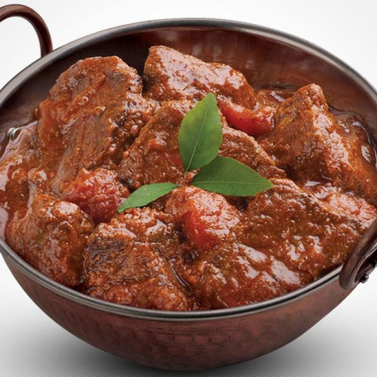 Lamb or Beef Vindaloo (Hot)