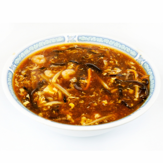 27. Hot & Sour Shanghai Noodle in Soup