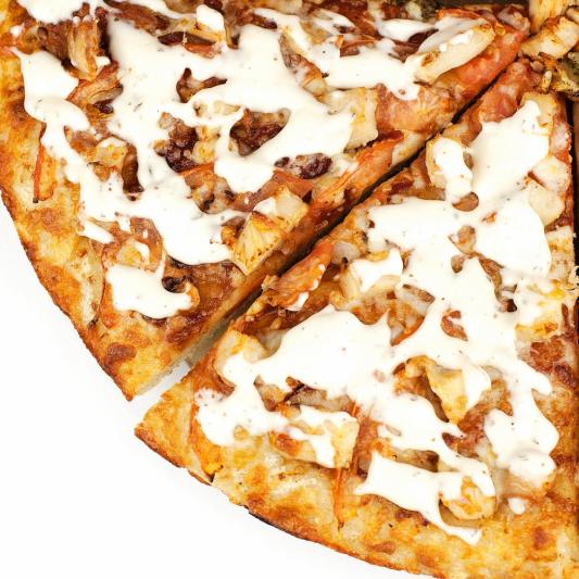 Chicken Bacon Ranch Pizza (GF)