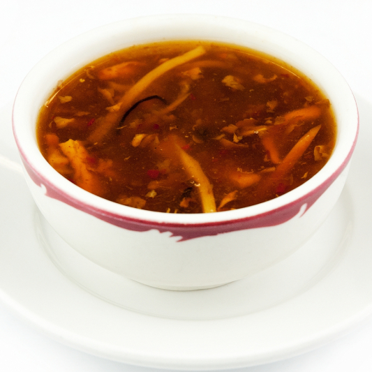 377. Wonton in Hot and Sour Soup (10 Pcs)